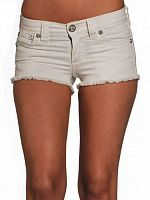 Шорты женские Affliction VIKKI IRIS WHITE SHORT