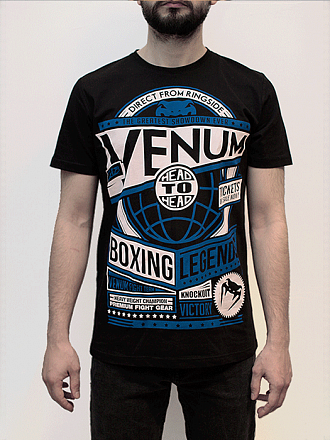 Футболка VENUM Boxing legends Tshirt